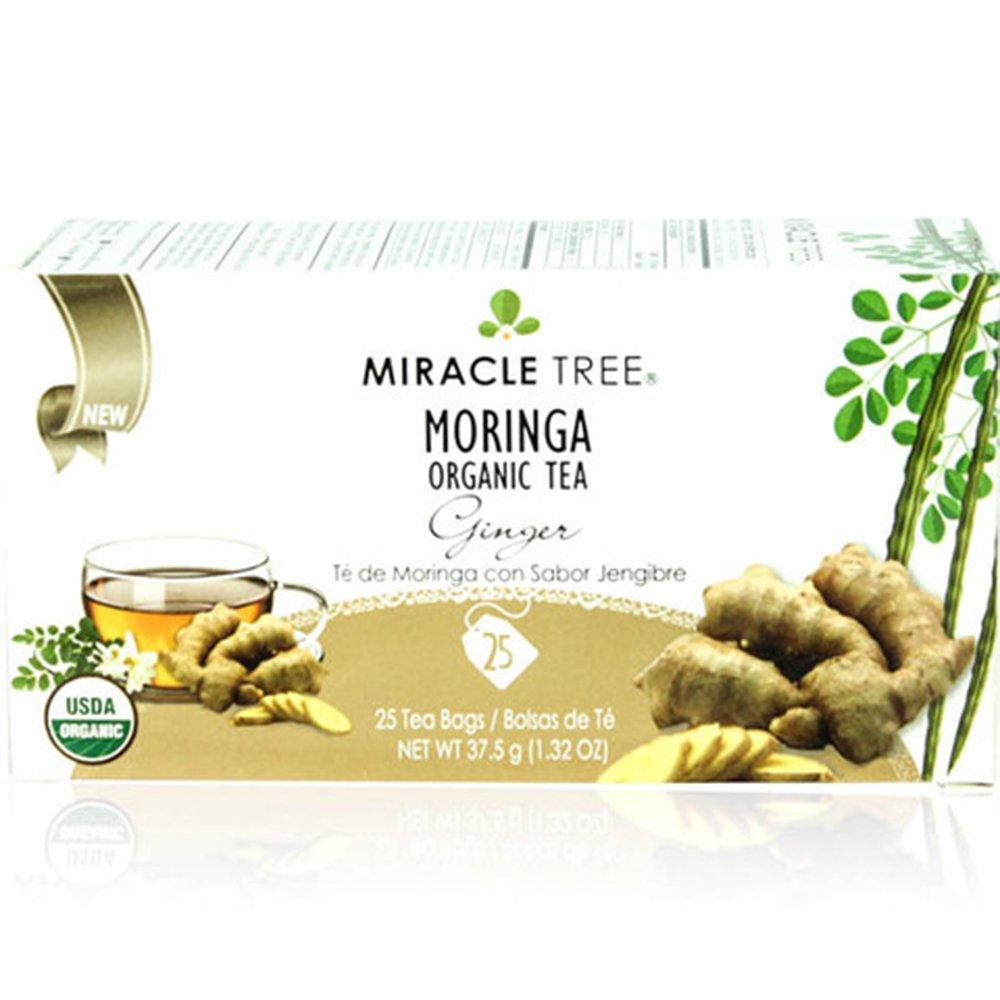 Miracle Tree's Moringa Tea: Ginger