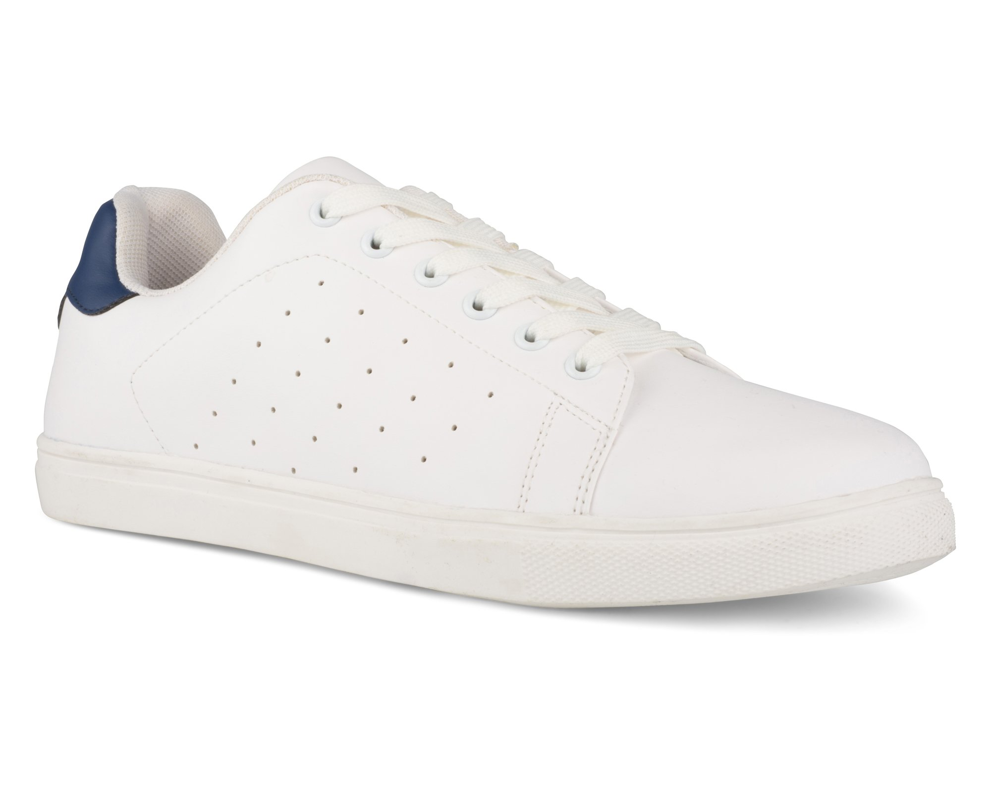 Influence Men's Steve Casual Lace up Tennis Trainer Sneaker, STEVE01 Navy, Size 11