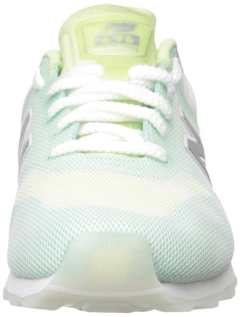 New Balance Women's 696 Re-Engineered Lifestyle Fashion Sneaker B01LXDDVBK 10 B(M) US|Green/White
