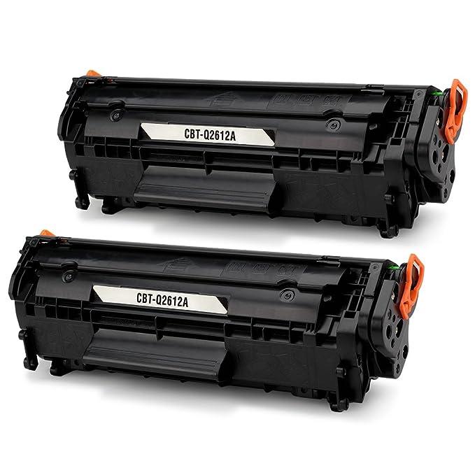 JARBO Q2612A Cartuchos de tóner Compatible para HP 12A (Q2612A ...