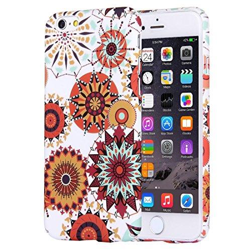 Phone Taschen & Schalen Für iPhone 6 Plus & 6s Plus National Style Blumenmuster PC Schutzhülle ( SKU : IP6P1068C )
