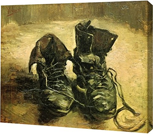 A Pair of Shoes by Vincent Van Gogh - 15