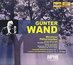 ギュンター・ヴァント ~ ミュンヘン・レコーディングス (The Munich Recordings - A. Bruckner, F. Schubert, J. Brahms, L.V. Beethoven / Gunter Wand, Munchener Philharmoniker) (8CD) [輸入盤]