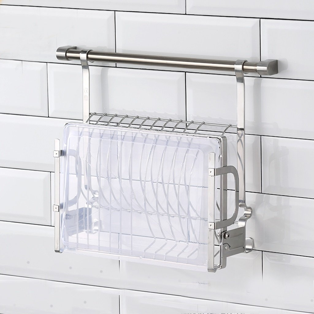 26 5 33 5cm Gy Stainless Steel Wall Mounted Dish Rack Folding Drain Rack Tableware Rack Kitchen Dish Drying Rack Countertop Storage Rack 38 Color Silver Brigs Com How to accessorize a laundry room. 26 5 33 5cm gy stainless steel wall