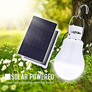 LightMe Portable 140LM Solar Powered Led Bulb Lights Outdoor Solar Energy Lamp Lighting for Home Fishing Camping Emergency