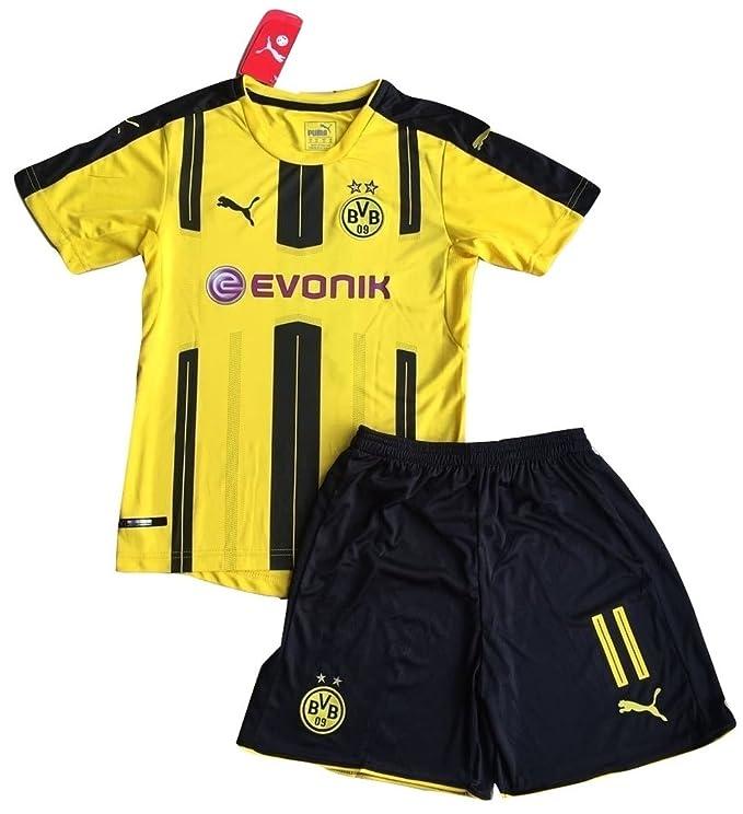 Amazon.com: Borussia de Dortmund 2016 – 2017 Reus # 11 Kids ...
