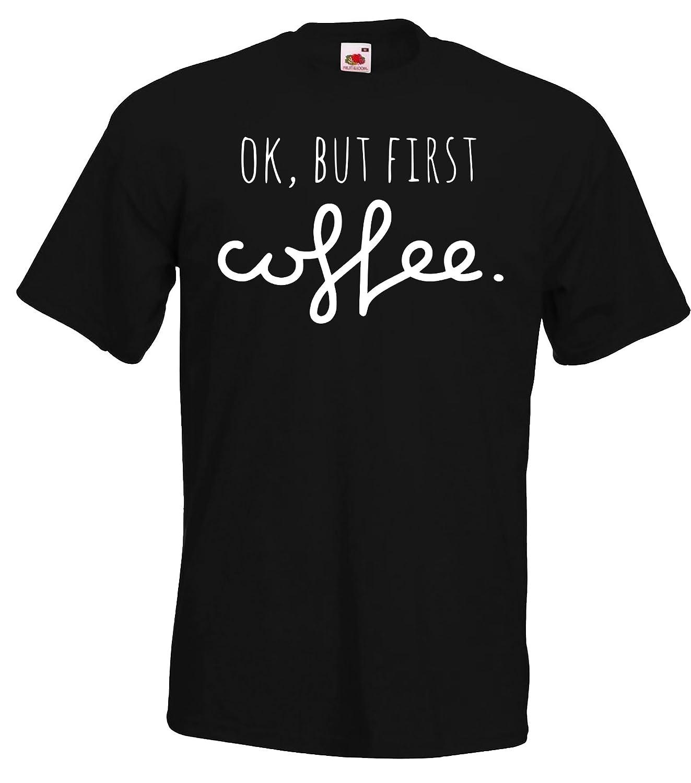Farben Damen T-Shirts Strampler Set Modell OK BUT First Milk//Coffee // F/ür die Ganze Familie//in versch Baby Herren