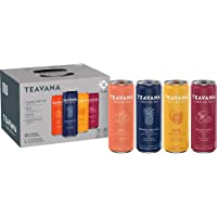Teavana Craft Variety Pack Iced Natural Tea with Pineapple Berry Blue, Peach Green...