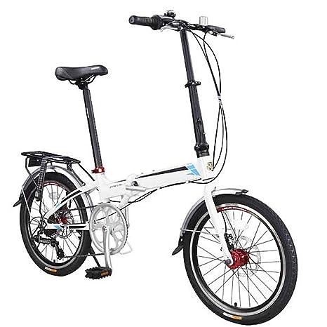 BANGL B Bicicleta Plegable Bicicleta Plegable de Aluminio ...