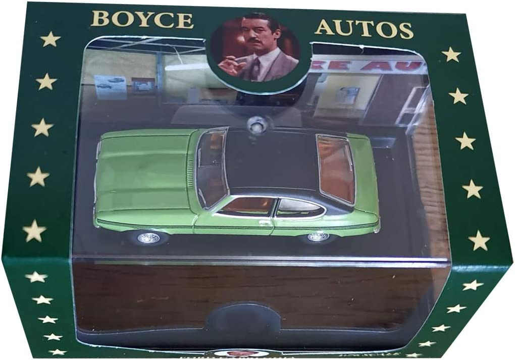 Only Fools and Horses OXFORD DIECAST Boycie Signed Limited Edition Capri Ghia