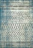 United Weavers of America  Lucid Area Rug, 7'10'' x 10'6''/Oversize, Aqua