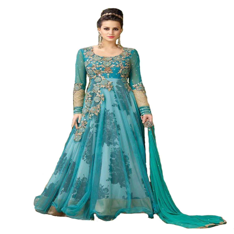Amazon.com: Indian Party wear Gown Anarkali Salwar Kameez Ceremony ...
