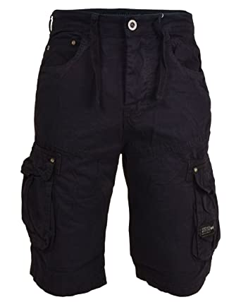 informazioni per b58ce cd23e Bermuda in pantaloncini corti lunghi in cotone da taschino ...
