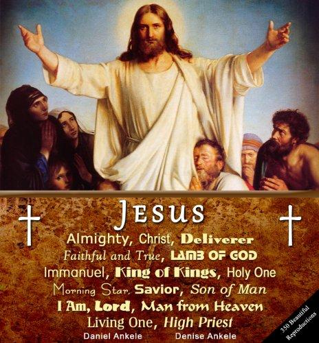 Jesus Christ: 350 Art Reproductions - Carl Bloch, Caravaggio, Raphael, Bouguereau, Antonella da Messina, Gustave Dore (Reproductions Bouguereau)