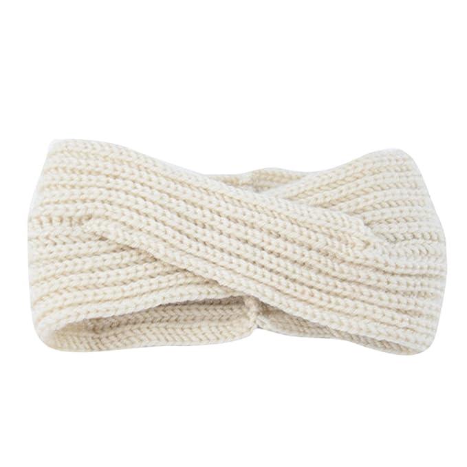 Butterme Twisted Knotted Crochet Strick Stirnband Damen Frauen ...