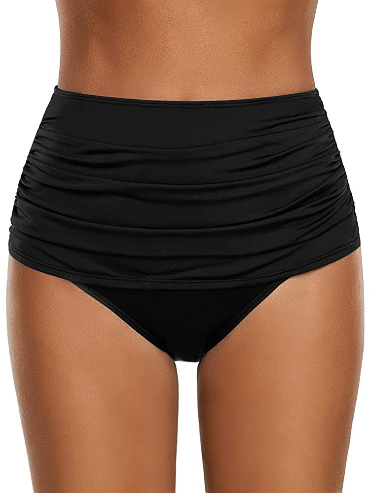 536156faea6 Top 10 wholesale High Waisted Ruched Bikini Bottoms - Chinabrands.com