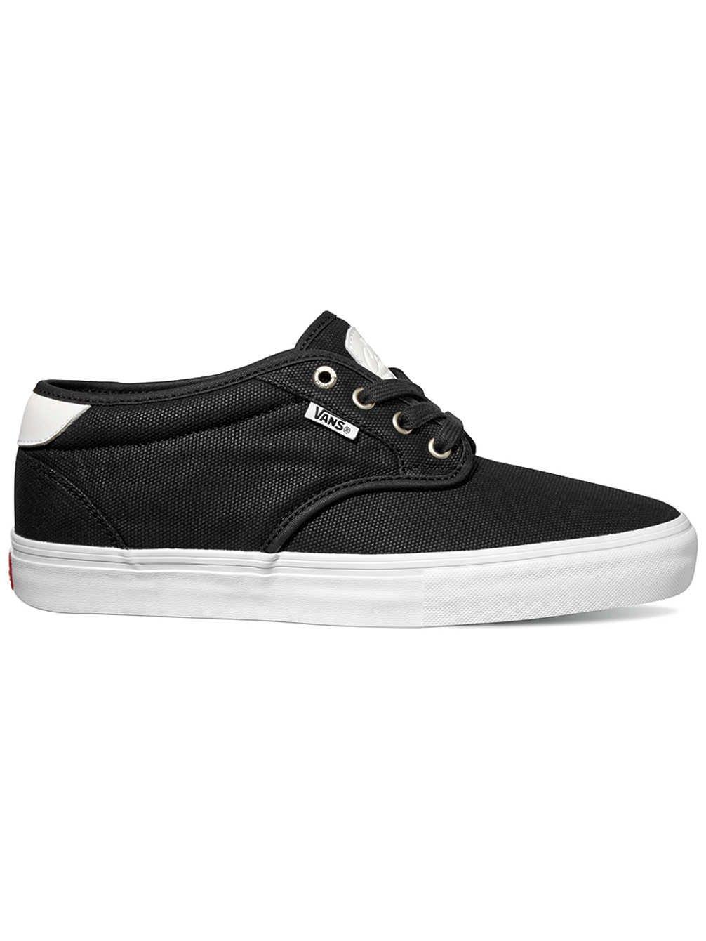 Vans Chima Estate Pro Shoes 11 D(M) US|Waxed Canvas Black White