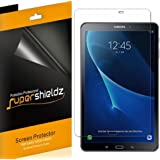 [3-Pack] Supershieldz for Samsung Galaxy Tab A 10.1 Screen Protector, Anti-Bubble High Definition Clear Shield + Lifetime Replacements Warranty (SM-T580/T587)
