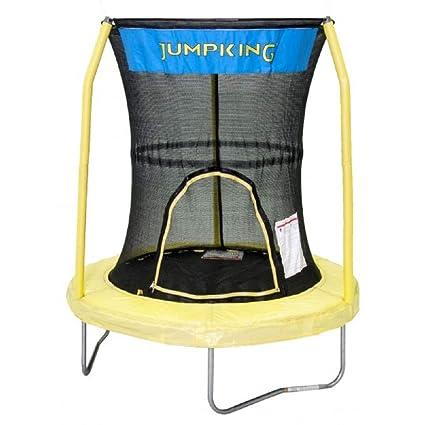 Amazon.com: JUMPKING Bazoongi trampolín con sistema de 3 ...
