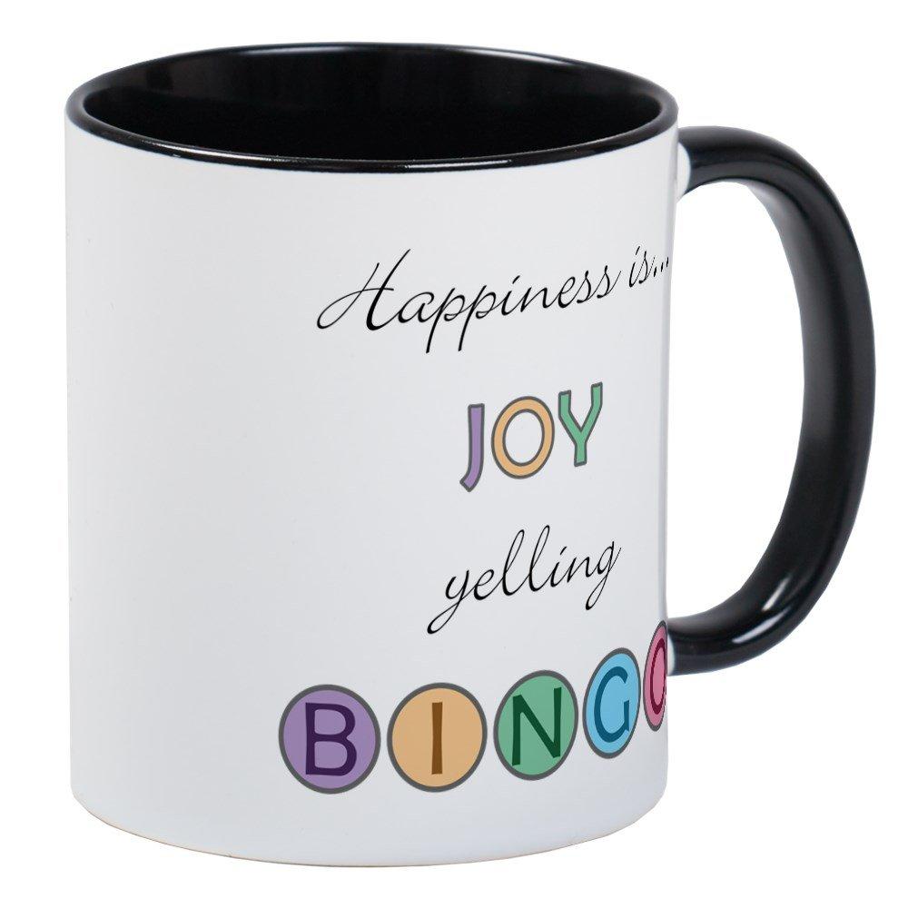 CafePress - Joy BINGO Mug - Unique Coffee Mug, Coffee Cup
