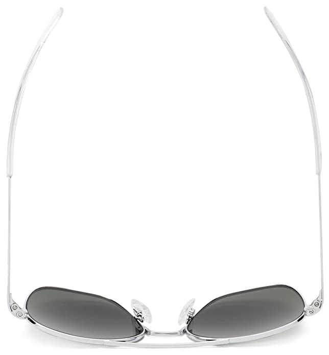 Randolph Engineering Square Aviator Sunglasses With Green ...