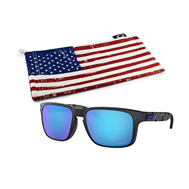 7d65eb5a2ef7e Image Unavailable. Image not available for. Color  Oakley Holbrook  Sunglasses (Matte Black Prizmatic Frame
