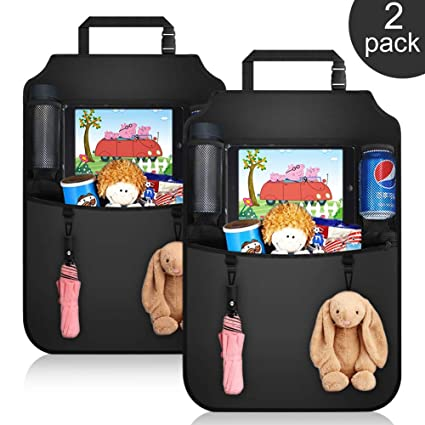 Mother & Kids Car Seat Back Cover Mat Baby Feeding Bottle Snack Tablet Organizer Cartoon Storage Bags Multi-functional Hanging Holders The Latest Fashion