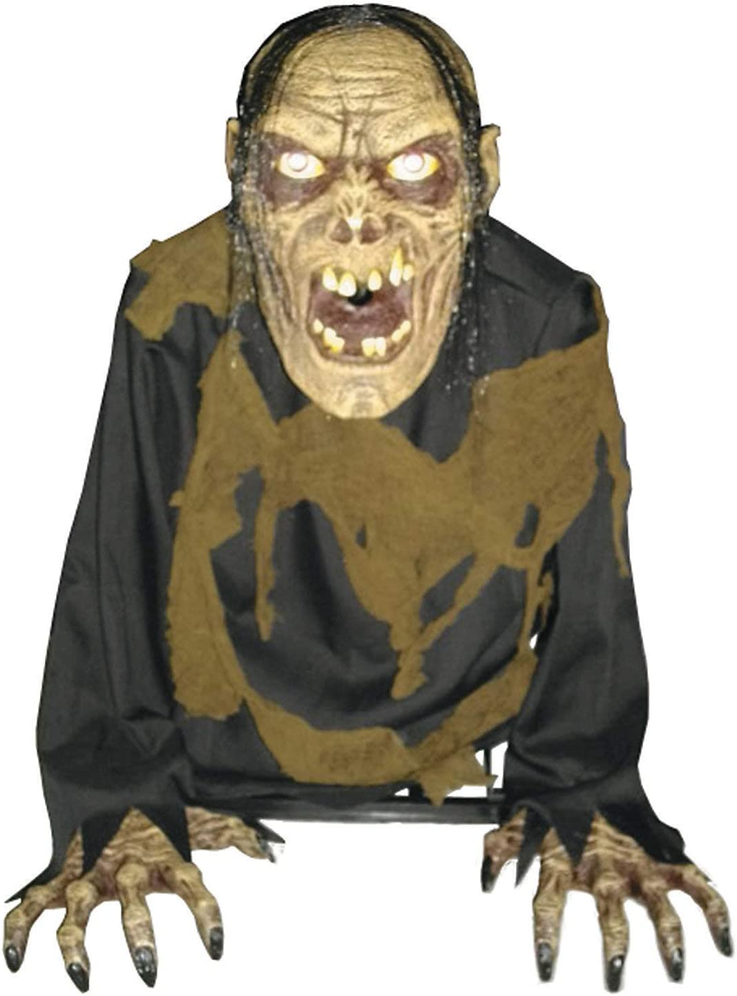 Fun Express - Bilious Zombie Animated Fog ac for Halloween - Home Decor - Decorative Accessories - Home Accents - Halloween - 1 Piece