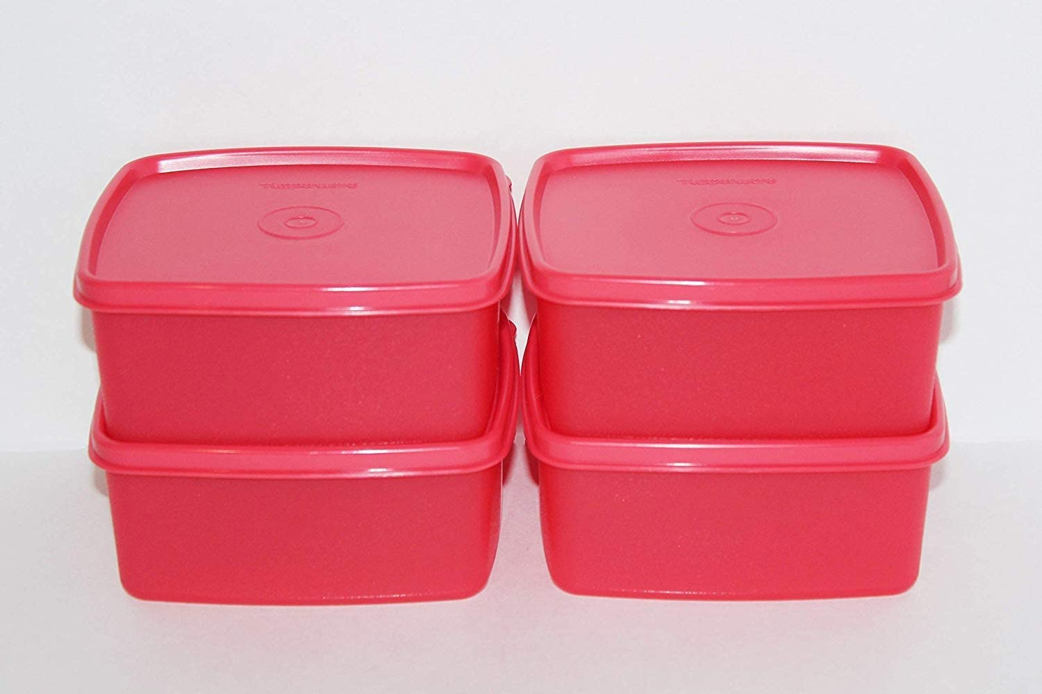Tupperware Freeze It Set Small Pink Color