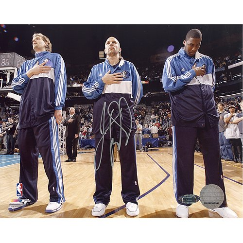 - Steiner Sports NBA Jason Kidd First Game Back with Mavericks National Anthem Autographed 8-by-10-Inch Photograph