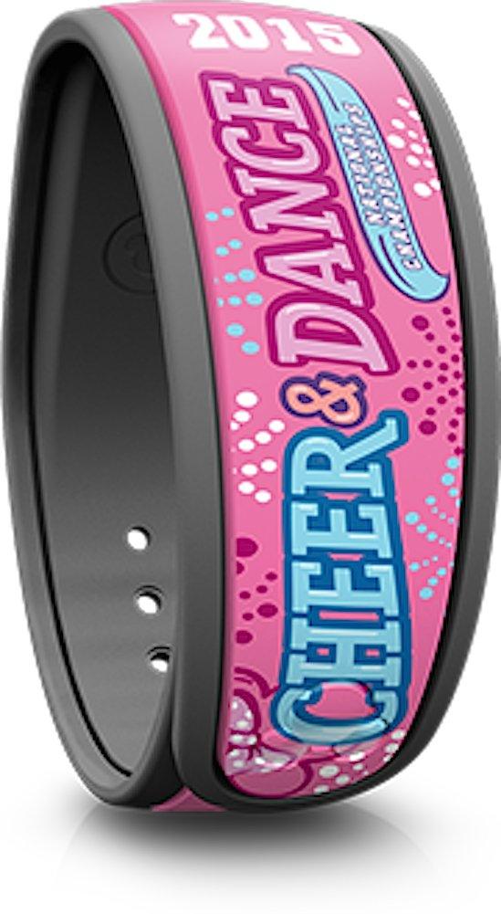 NEW Disney Pop Warner Cheer Dance Champs Pink Magic Band Link Later MagicBand