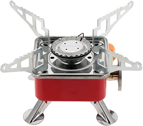 TOMSHOO 2800W Hornillo de gas butano portátil plegable para ...