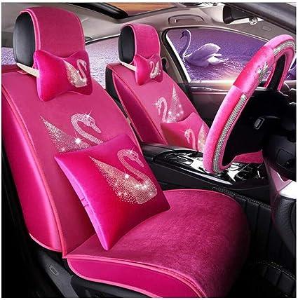 Funda impermeable para asiento de coche dise/ñada para adaptarse al Volkswagen T5//T6 Transporter de piel sint/ética a medida resistente 1+2
