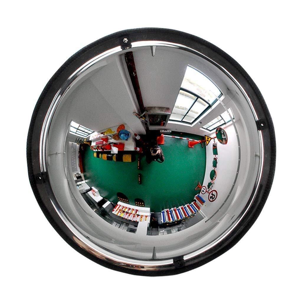 Geng カーブミラー パノラマドーム凸面鏡、360度視野角、アクリル製セーフティミラー、HDワイドアングルPCミラー、耐衝撃性PCガラス、店舗、オフィス、工場用、ワークショップセキュリティ 70cm(27inch)  B07TQ7PKS9