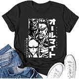 My Hero Academia T Shirt Teens Youth Short Sleeve Tee Tshirt Crop top Clothes
