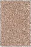 Cheap Safavieh Popcorn Shag Collection SG267B Handmade Beige Polyester Area Rug (3′ x 5′)
