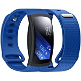 Gear Fit 2 Replacement Band, Lookatool Luxury Silicone Watch Replacement Band Strap For Samsung Gear Fit 2 SM-R360