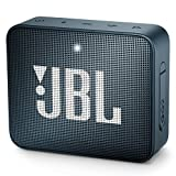JBL GO 2 Portable Bluetooth Waterproof Speaker (Navy)