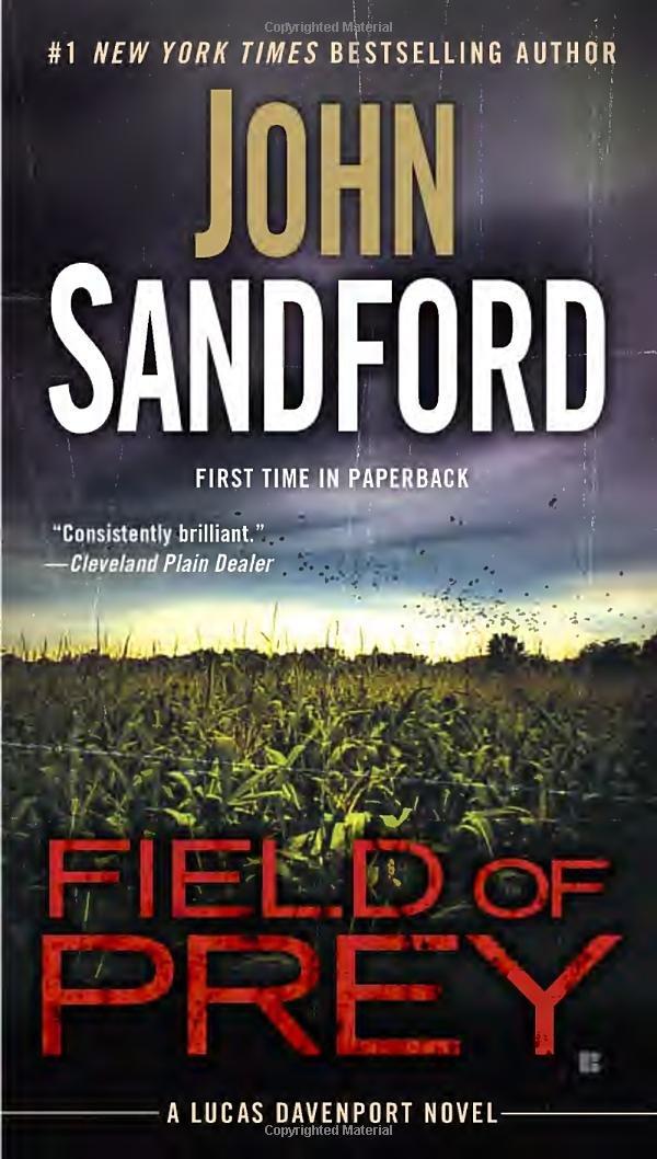 Field Prey Lucas Davenport Sandford product image