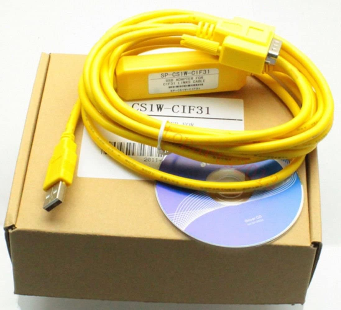 Programming cable USB-CIF31 for Omron PLC CS1W USB to RS232 conversion adapter