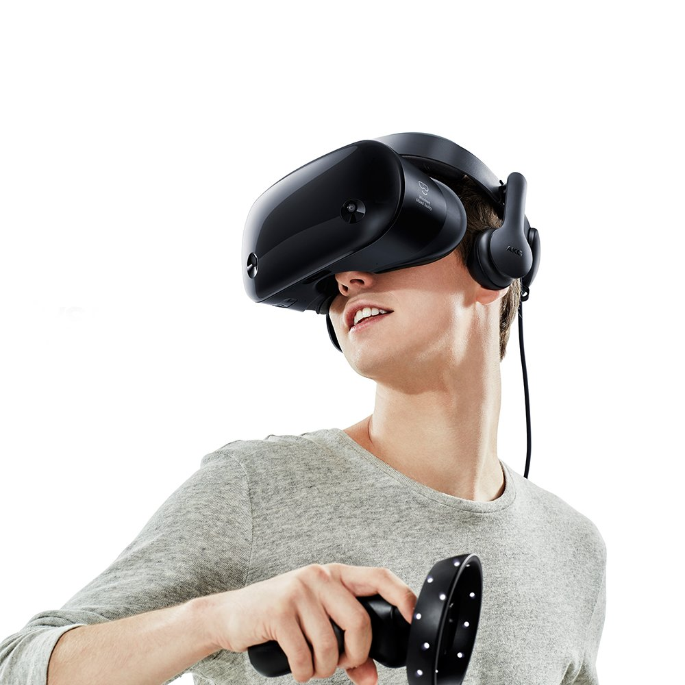 Samsung Hmd Odyssey Windows Mixed Reality Headset with 2 Wireless Controllers (XE800ZAA-HC1US) by Samsung (Image #3)