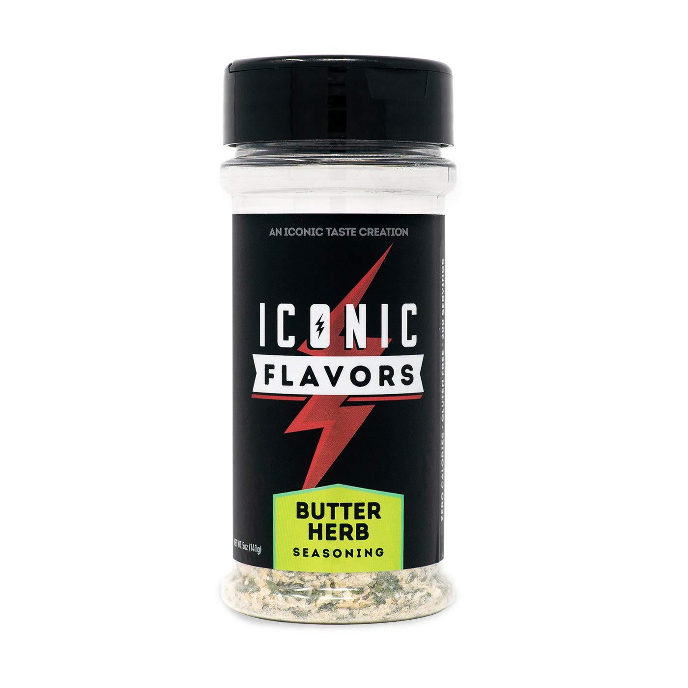 ICON Meals Gluten Free Zero Calorie Seasonings, Meal Prep, Flavor Enhancer, Keto Approved, Real Ingredients, Amazing Taste, Low Carb (Butter Herb)