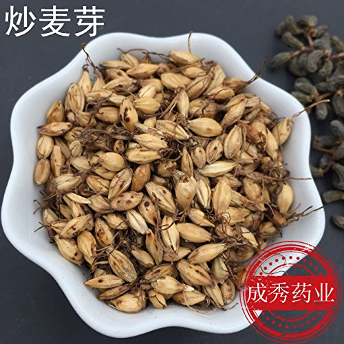 (Chinese herbal medicine, fried malt, post baked barley malt barley tea 500g8 yuan)