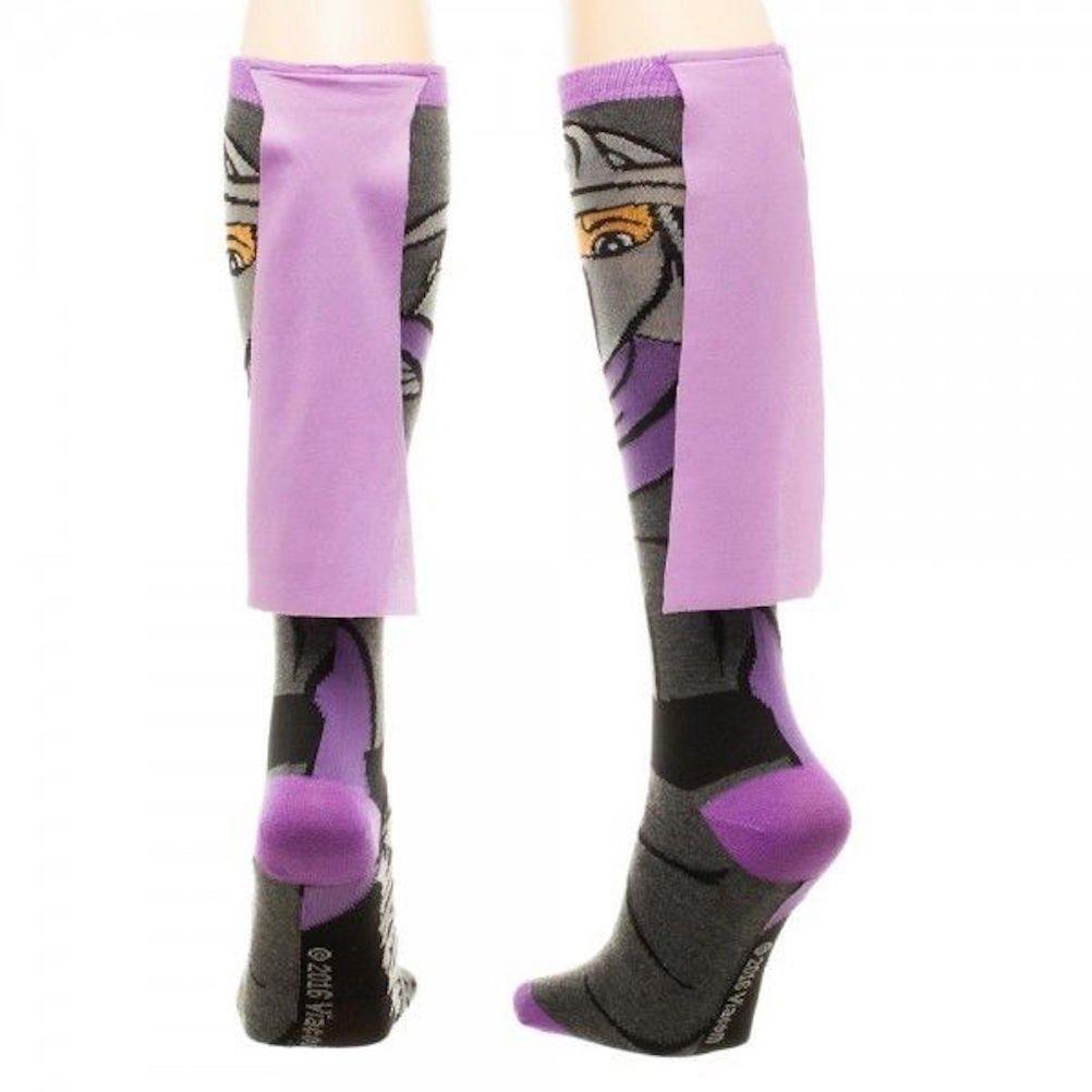 ca9fde24ff6 Amazon.com  Teenage Mutant Ninja Turtles TMNT Shredder Cape Knee High Socks  NWT Licensed  Clothing