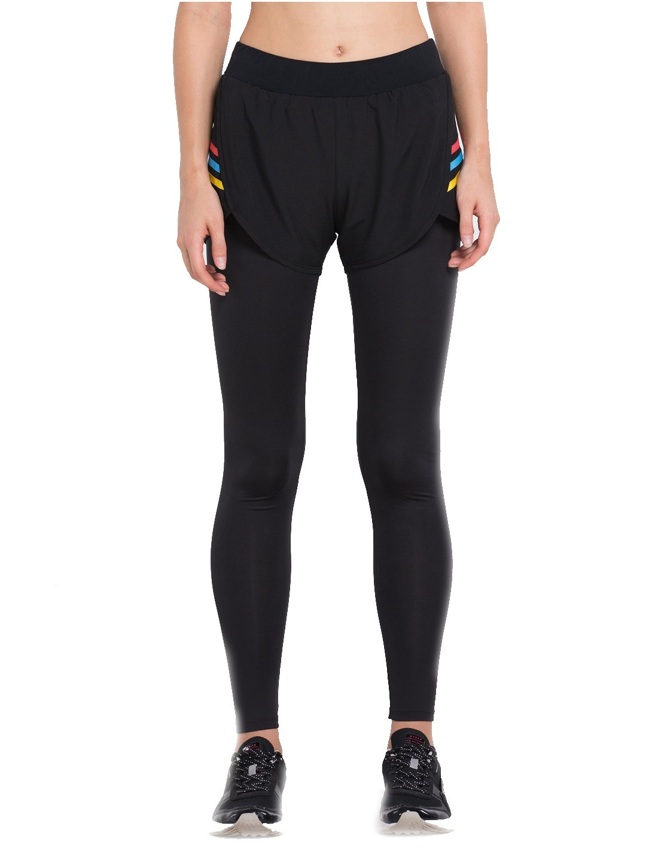 Fight Eagle Pantalons de Sport pour Femmes Slimming Yoga Leggings Fitness Gym Pants