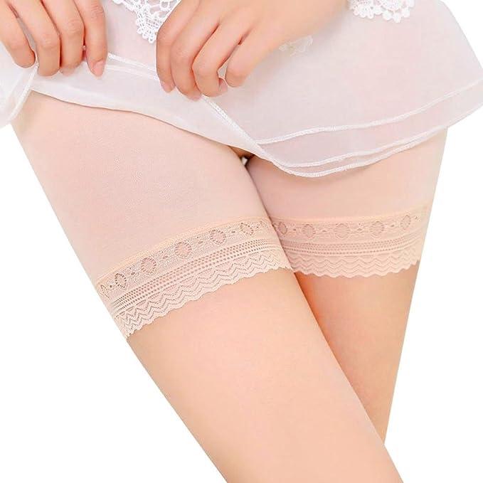 Internet Faldas con cordones de las mujeres Falda corta Debajo de los pantalones de seguridad Pantalones