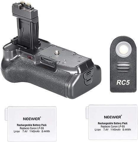 Agarre de batería para cámara Digital Canon EOS 550D 600D / Rebel ...