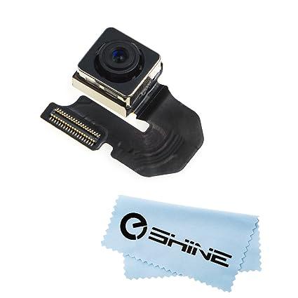 brand new a50bd 16e9a EShine Rear Back Main Camera Module Flex Cable Replacement for iPhone 6 4.7  A1549 (GSM), A1549 (CDMA), A1586, A1589 + Cloth