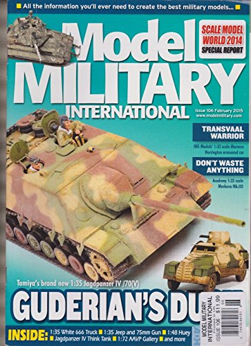 MODEL MILITARY INTERNATIONAL MAGAZINE #106 FEBRUARY 2015. ()