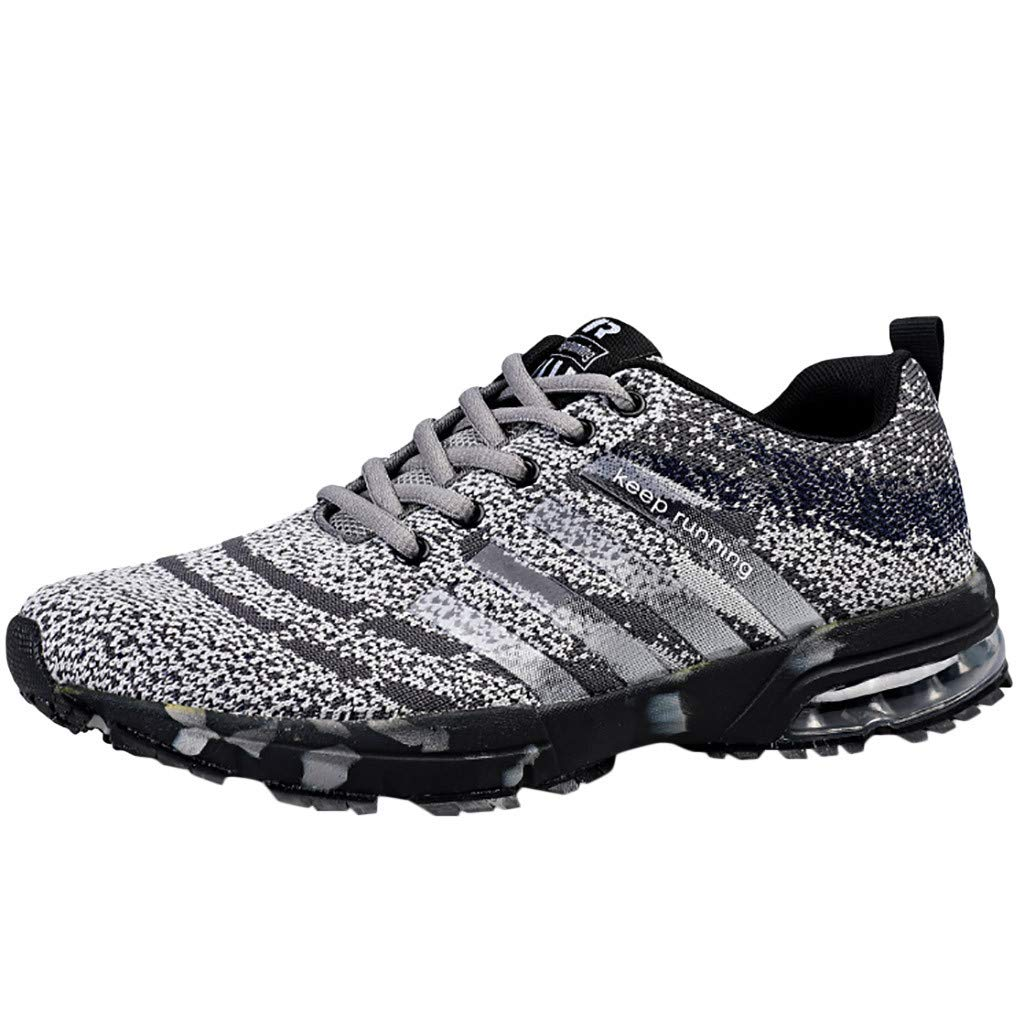 TIFENNY Fashion Sneakers Men's Mesh Sequin Breathable Wearable Outdoor Lightweight Sports Shoes by TIFENNY_Shoes